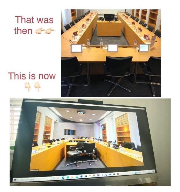 One of my real-time transcription arbitrations at the ICC in Paris, 2018 and 2020